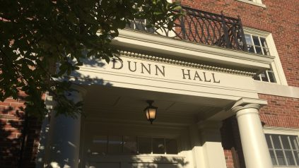 dunn hall entrance
